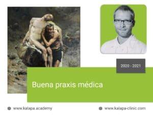 Portada curso online de Buena Praxis Médica